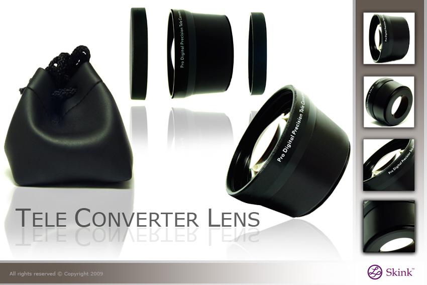 Tele Converter Lens